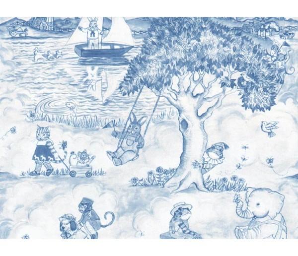 Kids Kids Wallpaper LA50163 S.A.MAXWELL CO.