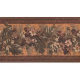 Floral Borders Floral Wallpaper Border 3325 LG York Wallcoverings