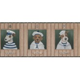 Dogs Dogs Wallpaper Border 1503 LK York Wallcoverings