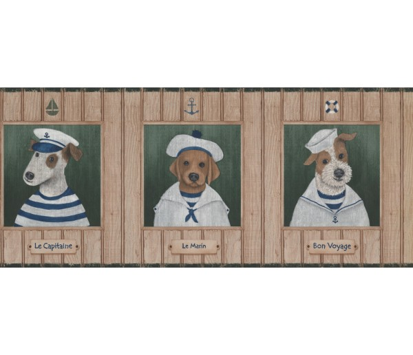 Dogs Wallpaper Border 1503 LK