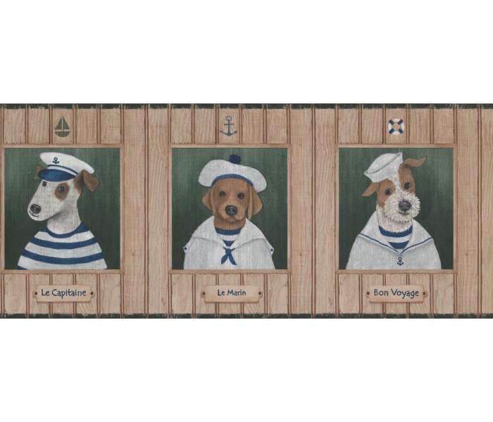 Dogs Wallpaper Borders: Dogs Wallpaper Border 1503 LK