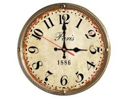 Wooden Paris Quartz Wall Clock