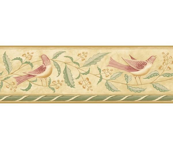 Birds  Wallpaper Borders: Diane Ulmer Perdersen Wallpaper Border 250B69210