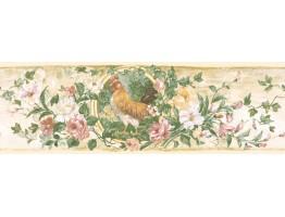 Floral Wallpaper Border 84B73619
