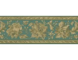 Floral Wallpaper Border FDB05741