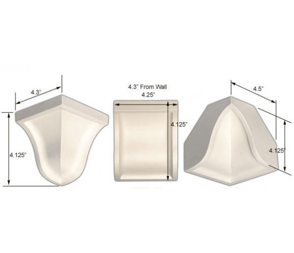 Crown Molding Corners: MC-4177 Corners