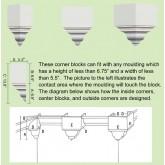 Crown Molding Corners: MC-4203 Corners