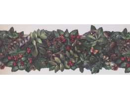 Prepasted Wallpaper Borders - Garden Wall Paper Border 105473 NE