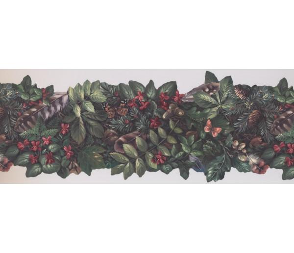 Garden Borders Garden Wallpaper Border 105473 NE York Wallcoverings