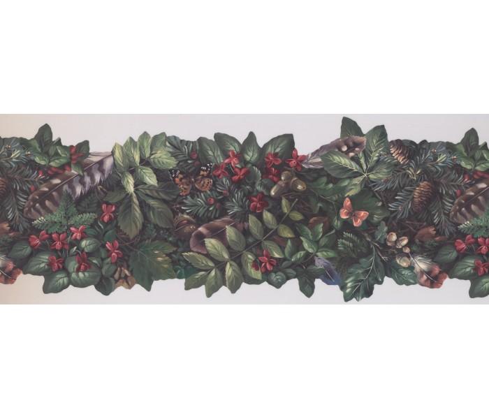 Garden Wallpaper Borders: Garden Wallpaper Border 105473 NE