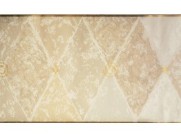 Prepasted Wallpaper Borders - Tan Abstract Wall Paper Border NP1887