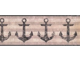 Anchor Wallpaper Border 4908 NY