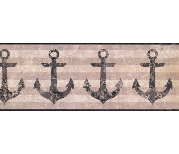 Contemporary Borders Anchor Wallpaper Border 4908 NY York Wallcoverings