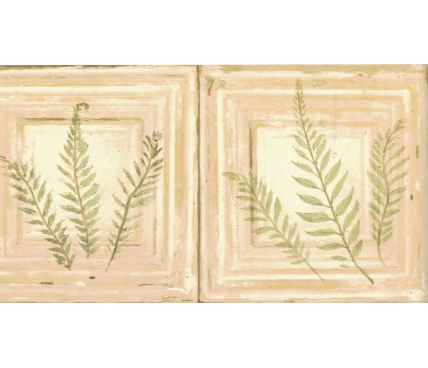 New Arrivals Leaves Wallpaper Border Nl57042B