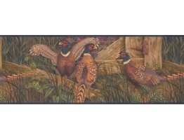 9 in x 15 ft Prepasted Wallpaper Borders - Birds Wall Paper Border 8102 OA