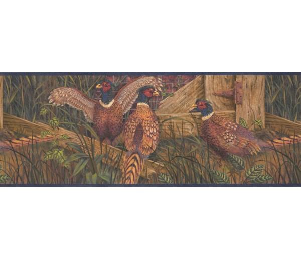 Birds Birds Wallpaper Border 8102 OA York Wallcoverings