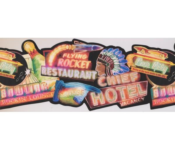 Kitchen Borders Restaurant Wallpaper Border 8111 OA York Wallcoverings