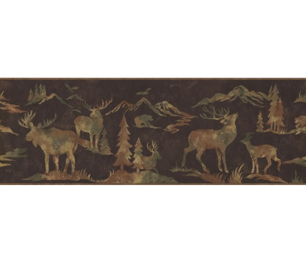 Jungle Animals Wallpaper Border 8153 OA York Wallcoverings