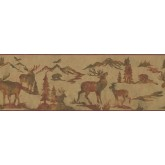 Jungle Animals Wallpaper Border 8155 OA York Wallcoverings