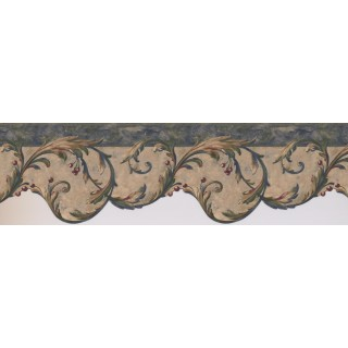 6 1/2 in x 15 ft Prepasted Wallpaper Borders - Fruits Wall Paper Border 8211 OA