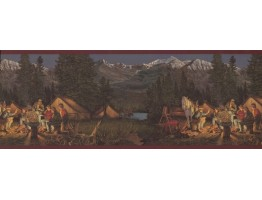 Country Wallpaper Border 8291 OA