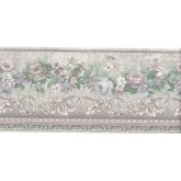 Prepasted Wallpaper Borders - Flower Wall Paper Border ON53522