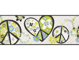 Floral Wallpaper Border 3916 PW