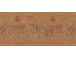 Floral Wallpaper Border S5232B