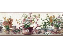 Garden Wallpaper Border SA105592