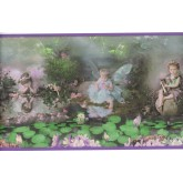 Nursery Wallpaper Borders: Angels Wallpaper Border SB10098B