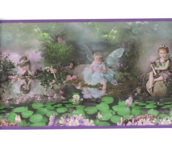 New Arrivals Angels Wallpaper Border SB10098B