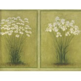 Floral Wallpaper Borders: Flower Wallpaper Border SB10306B