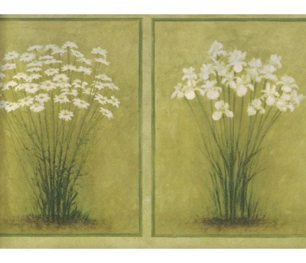New Arrivals Flower Wallpaper Border SB10306B