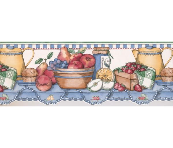Kitchen Borders Kitchen Wallpaper Border 3013 SC York Wallcoverings