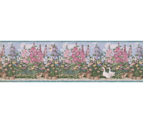 Garden Wallpaper Borders: Garden Wallpaper Border 5236 SMB