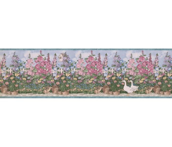 Garden Wallpaper Borders: Garden Wallpaper Border 5236 SMB