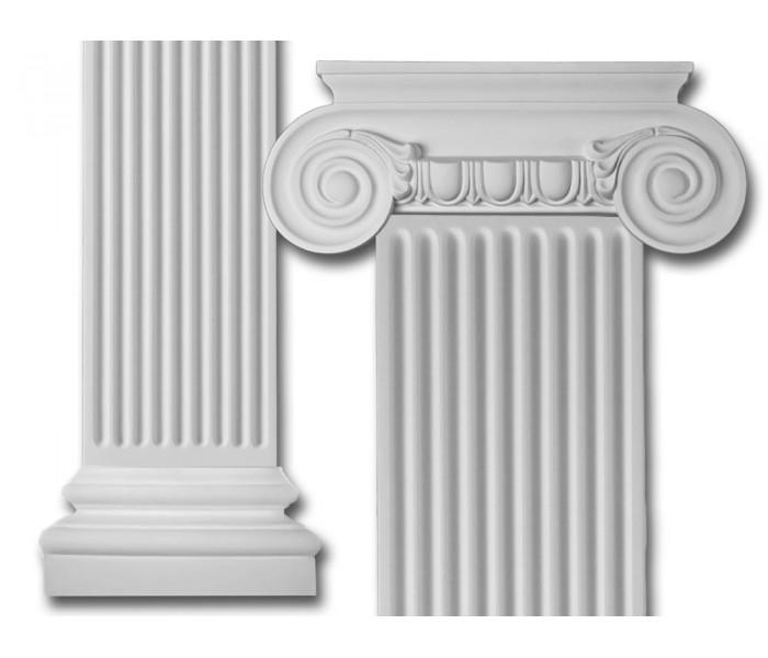 Flat Column Set: Scroll Flat Column Set