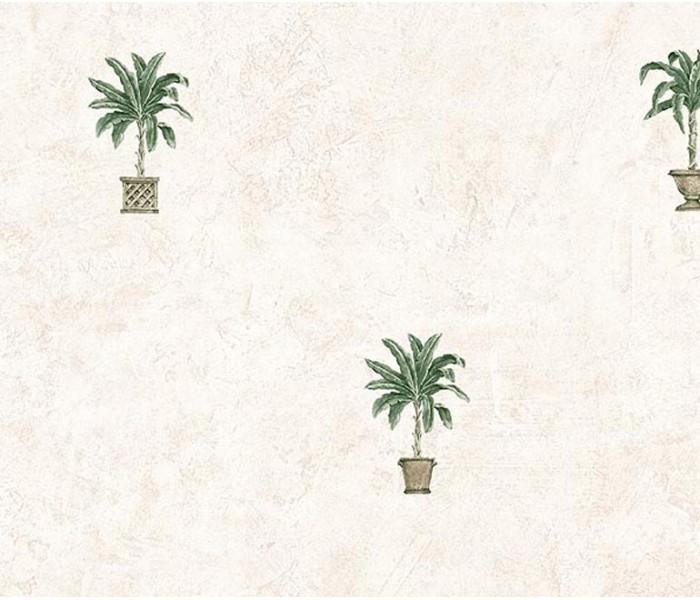 Floral Wallpaper: Palm Tree Wallpaper TH29054