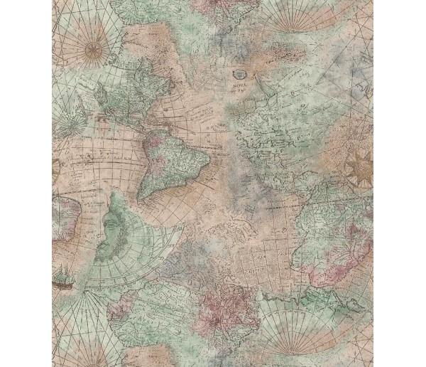 Contemporary Contemporary Wallpaper TM14547 S.A.MAXWELL CO.