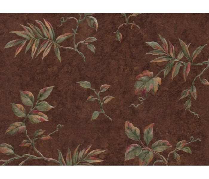 Floral Wallpaper: Leafs Wallpaper VC885