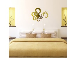 3D Acrylic Wall Clock With Butterfly