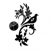 Wall Clocks: DIY 3D Acrylic Wall Clock With Decorative Sticker
