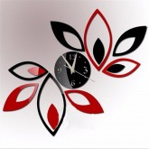 Wall Clocks DIY 3D Acrylic Wall Clock With Sticker