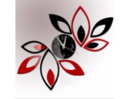DIY 3D Acrylic Wall Clock With Sticker