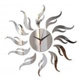Wall Clocks: DIY 3D Acrylic Wall Clock With Sun Sticker