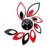 Wall Clocks DIY 3D Acrylic Wall Clock With Sticker