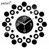 Wall Clocks DIY 3D Acrylic Wall Clock With Circle Sticker