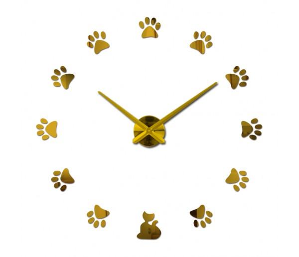 Wall Clocks: DIY Multi-Piece Set Wall Clock With Stickers