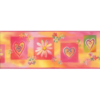 9 in x 15 ft Prepasted Wallpaper Borders - Kids Wall Paper Border 9091 WK