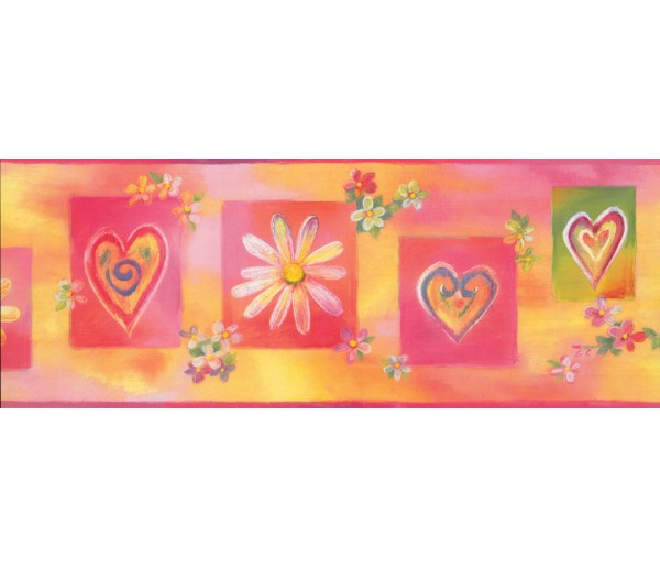 Nursery Wallpaper Borders: Kids Wallpaper Border 9091 WK
